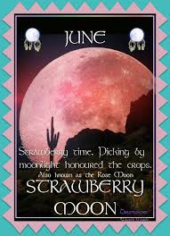 strawberry moon indian summer native american art june 2nd strawberry moon