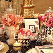 Pink And Black Sweet 16 Decorations Black Archives Unique Party Ideas From The Party Suite At Bellenza