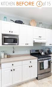 white kitchen no cabinets 15 inspiring before after kitchen remodel ideas must see