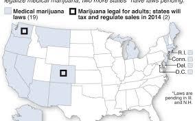 Medical Marijuana Legal States Map by Pot Comes To Capitol Hill As U S Marijuana Movement Blooms
