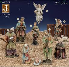27 joseph s studio nativity set