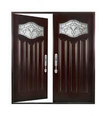 Wood Door Exterior Exterior Front Entry Wood Door Pairs 30 X80 X2 Left
