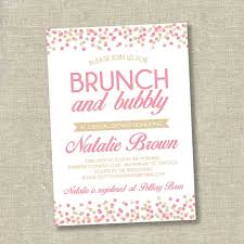 brunch invitation wording bridal shower brunch invitations badbrya