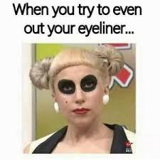 Eyeliner Meme - panda without makeup meme life style by modernstork com