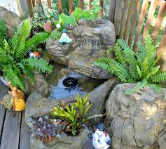 small patio pond backyard waterfall kits water features rock