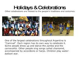 greetings and celebrations in argentina