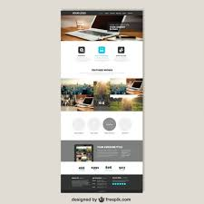 free finder websites business website template vector free