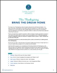 thanksgiving toolkit sanctuaryhomes