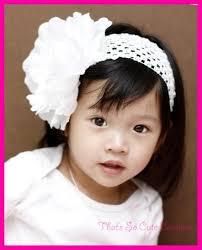 large white peony flower headband flower girl headband