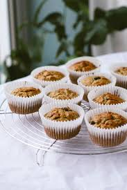 carrot cake breakfast muffins vegan wallflower kitchen