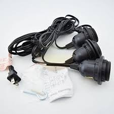 triple light bulb socket fantado triple socket black pendant light l cord for lanterns 19