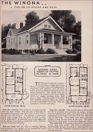 2 craftsman house plans 1936 winona kit home sears roebuck 20th century