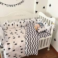 grey chevron crib bedding baby bedding set sweet baby nursery crib
