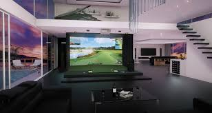 Home Design Simulation Games by Golfzon World Best Selling Best Indoor Golf Simulator