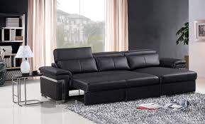 Leather Sofa Bed 3 Seater Sofa Bed Leather Brokeasshome Com