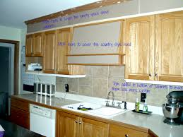 how to paint above kitchen cabinets bye bye space above your kitchen cabinets a that we built