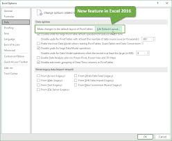 pivot table excel 2016 how to stop pivot table columns from resizing on change or refresh