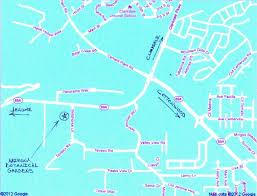 Jerome Arizona Map by Contact Arizona Botanical Gardens