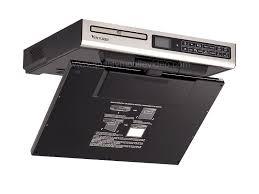 Under Kitchen Cabinet Tv Dvd Cd Player Radio Venturer Klv3915 Under Cabinet 15 4 Inch Drop Down Kitchen Tv With