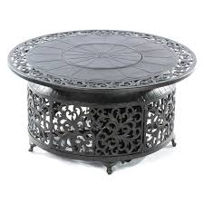 Cast Iron Firepits by Bellagio Cast Aluminum Gas Fire Pit Hayneedle