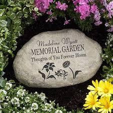 outdoor memorial plaques memorial garden personalized garden funeral thoughts