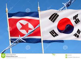 South Korea Flag Flags Of North And South Korea Stock Photo Image 35226608