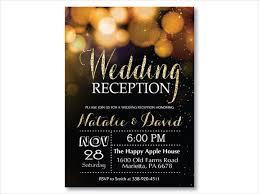 wedding reception invitations 16 new wedding reception invitation templates editable psd ai