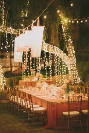 Outdoor Wedding Lights String by Outdoor Wedding Reception Lighting Ideas String Lights Creative