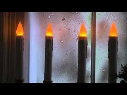 4 pack battery operated single window led window candles sku 87018