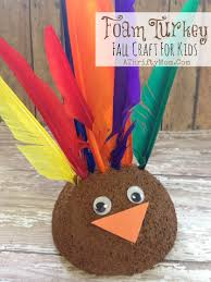 foam turkey craft foam turkey and easy thanksgiving craft for kids diy