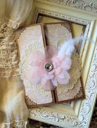 Shabby Chic Invites by Shabby Chic And Pink Wedding Invitations By Jennypie5 On Etsy
