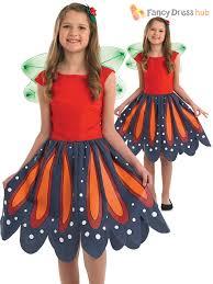 butterfly halloween costume girls butterfly flower fairy costume world book week day fancy