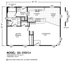 Cavco Floor Plans Floor Plan Gs 20302a Gs 20 U0026 24 Wides Homes By Cavco West