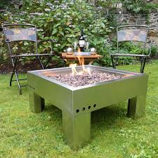 Stainless Steel Firepit Awesome Stainless Steel Pits Pit Building Materials