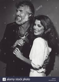 priscilla presley with kenny rogers at academy of country music
