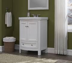 34 Bathroom Vanity Cabinet Runfine Rfva0069 Vanity With Vitreous China Top One Drawer And