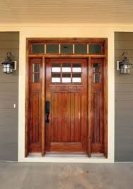 Black Front Door Ideas Pictures Remodel And Decor by Best 25 Craftsman Style Front Doors Ideas On Pinterest