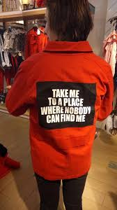 take me to a place where nobody can find me sweatshirt back