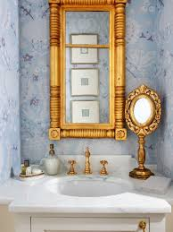 Best Pretty Powder Rooms Images On Pinterest Bathroom Ideas - Powder room bathroom