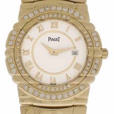piaget tanagra men s 18k yellow gold w diamond piaget tanagra palisade jewelers