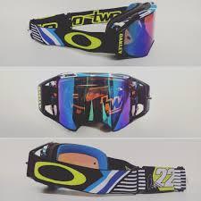 oakley new mx airbrake high new oakley airbrake mx motocross goggle chad reed speedstripe