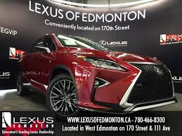 lexus rx red 2016 lexus rx 350 awd f sport series 3 review youtube