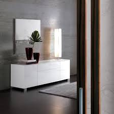 oliver b 2 doors 2 drawers sideboard high gloss white high