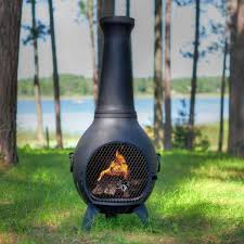 metal outdoor fireplace with chimney wpyninfo