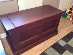 Diy Toy Box Bench Furniture Diy Outdoor Wood Storage Box With Lid And Leg As Bench