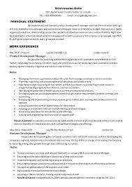 business development manager resumes srinivasarao galla product development manager cv