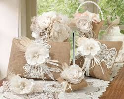 lace accessories lillian 5 burlap collection home kitchen