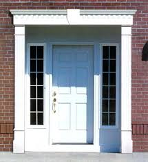 cool front doors frames designs images best inspiration home