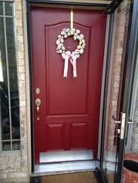 Valspar Exterior Paint Color Combinations Door Color Is Front Door Red By Valspar Front Door Makeover On