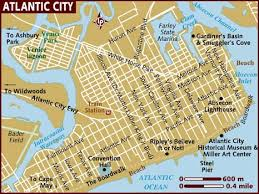 map usa lonely planet map of atlantic city
